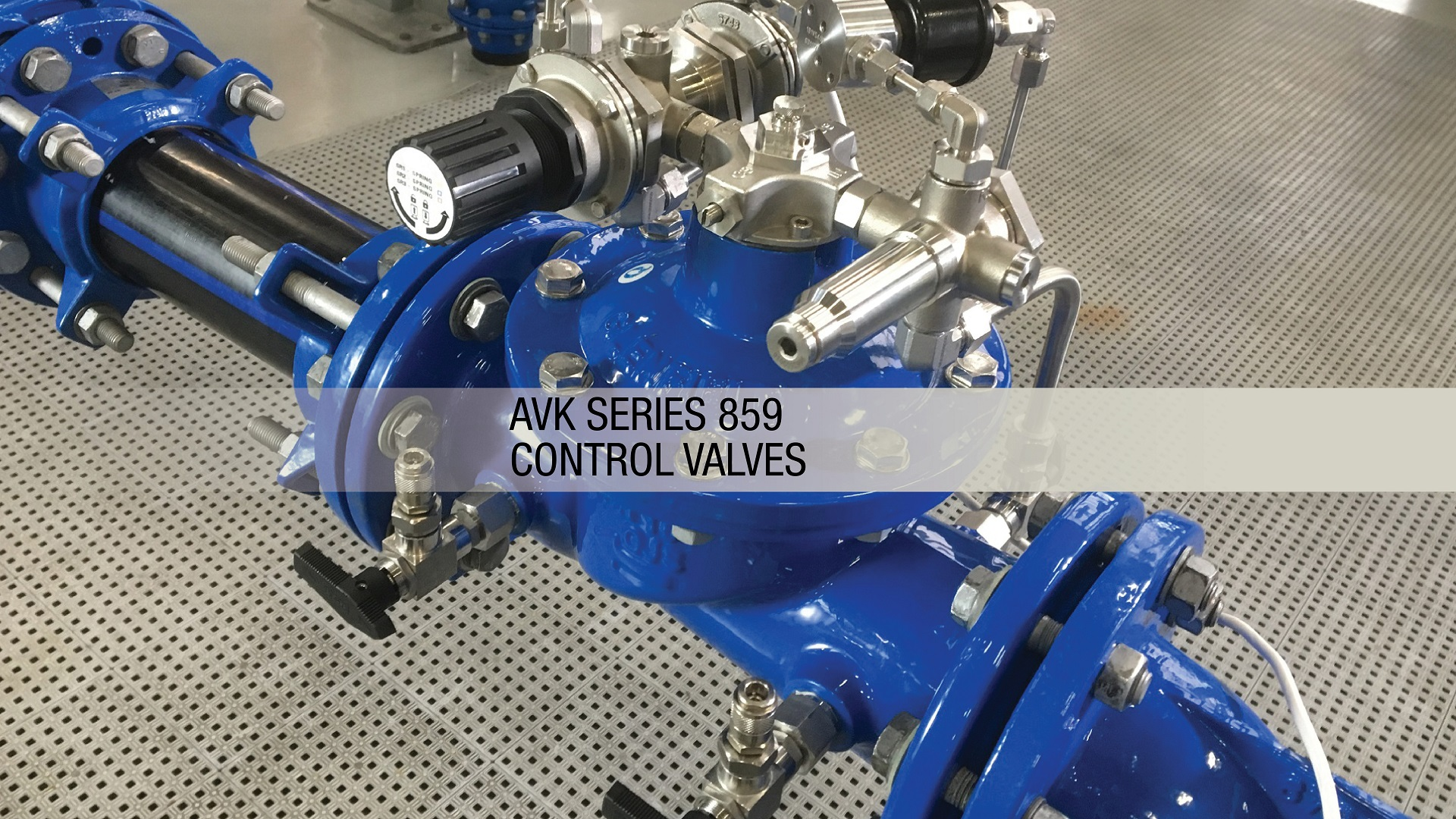 AVK Series 859 Control and Pressure Reducing Valves