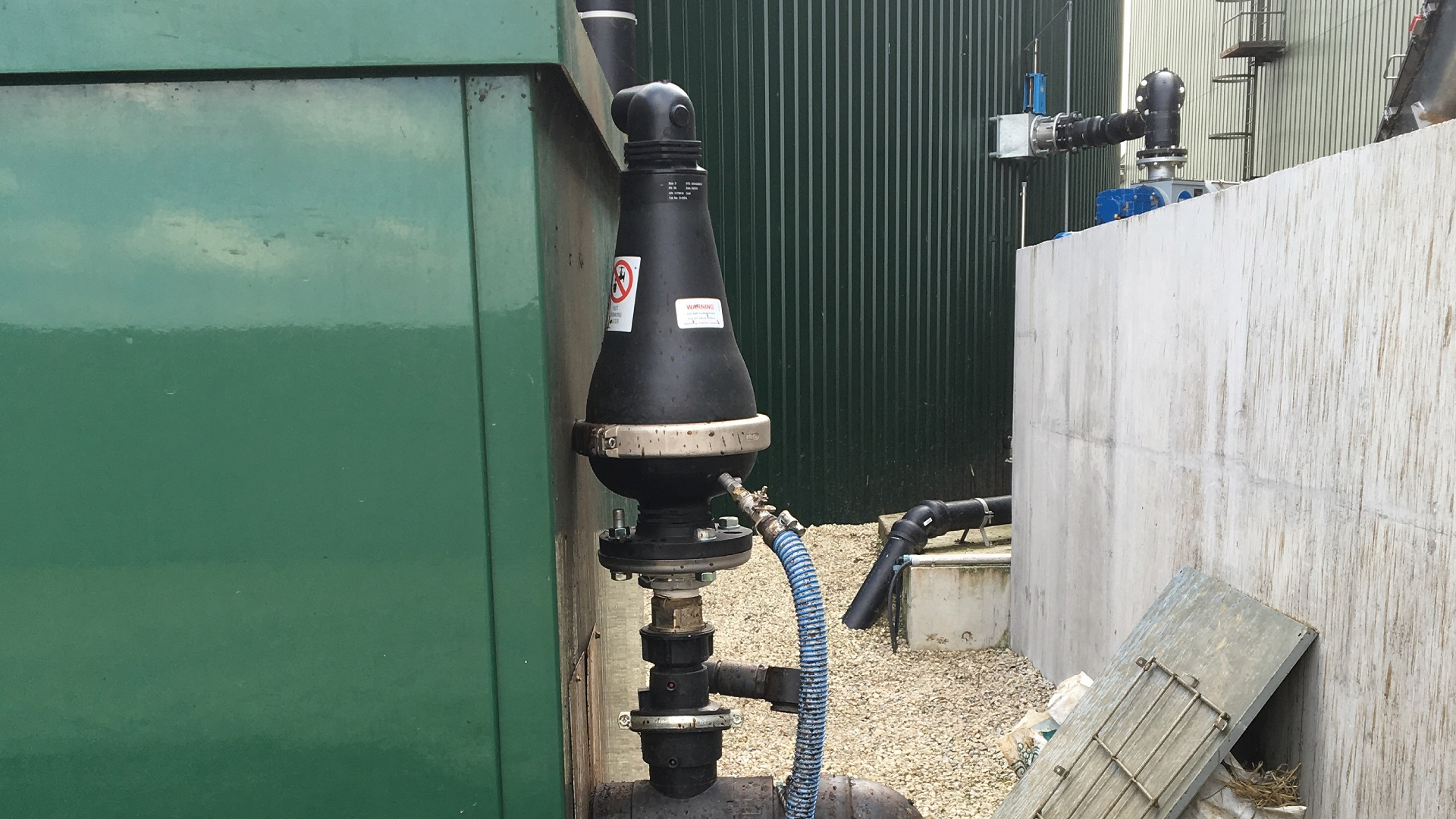 AVK Series 701 95 Air Valves Bio Gas