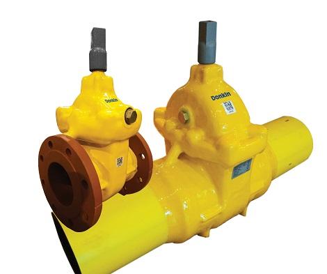 AVK Donkin PUR coated gate valve range