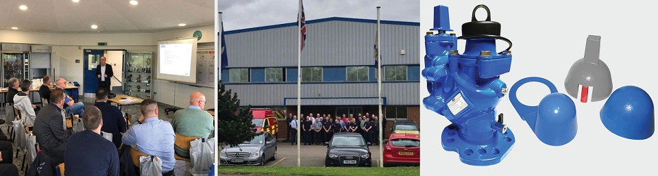 AVK UK fire Delegation Hydrants
