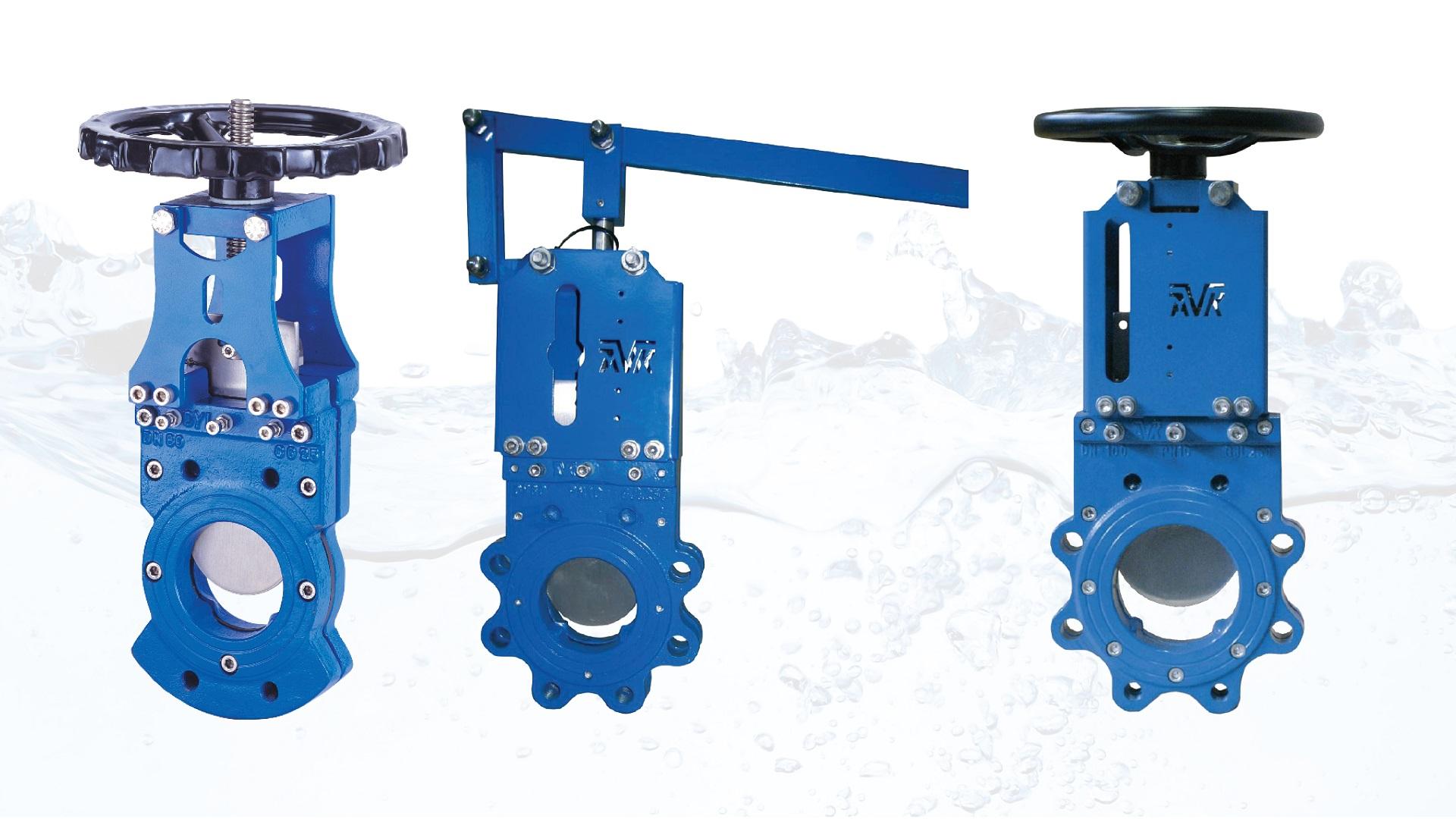 Series 702 AVK Knifegate valves