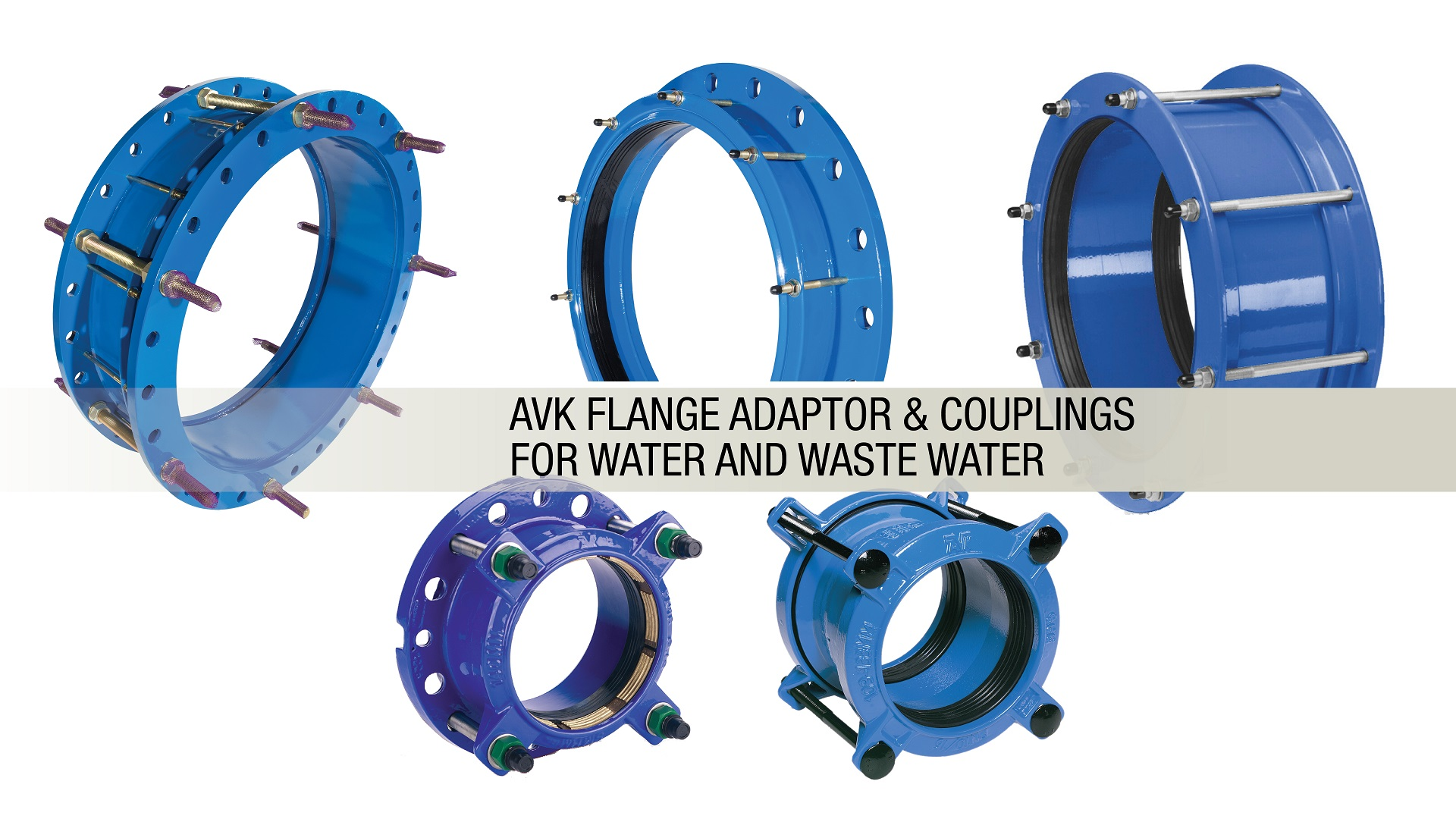 couplings and flange adaptors headline
