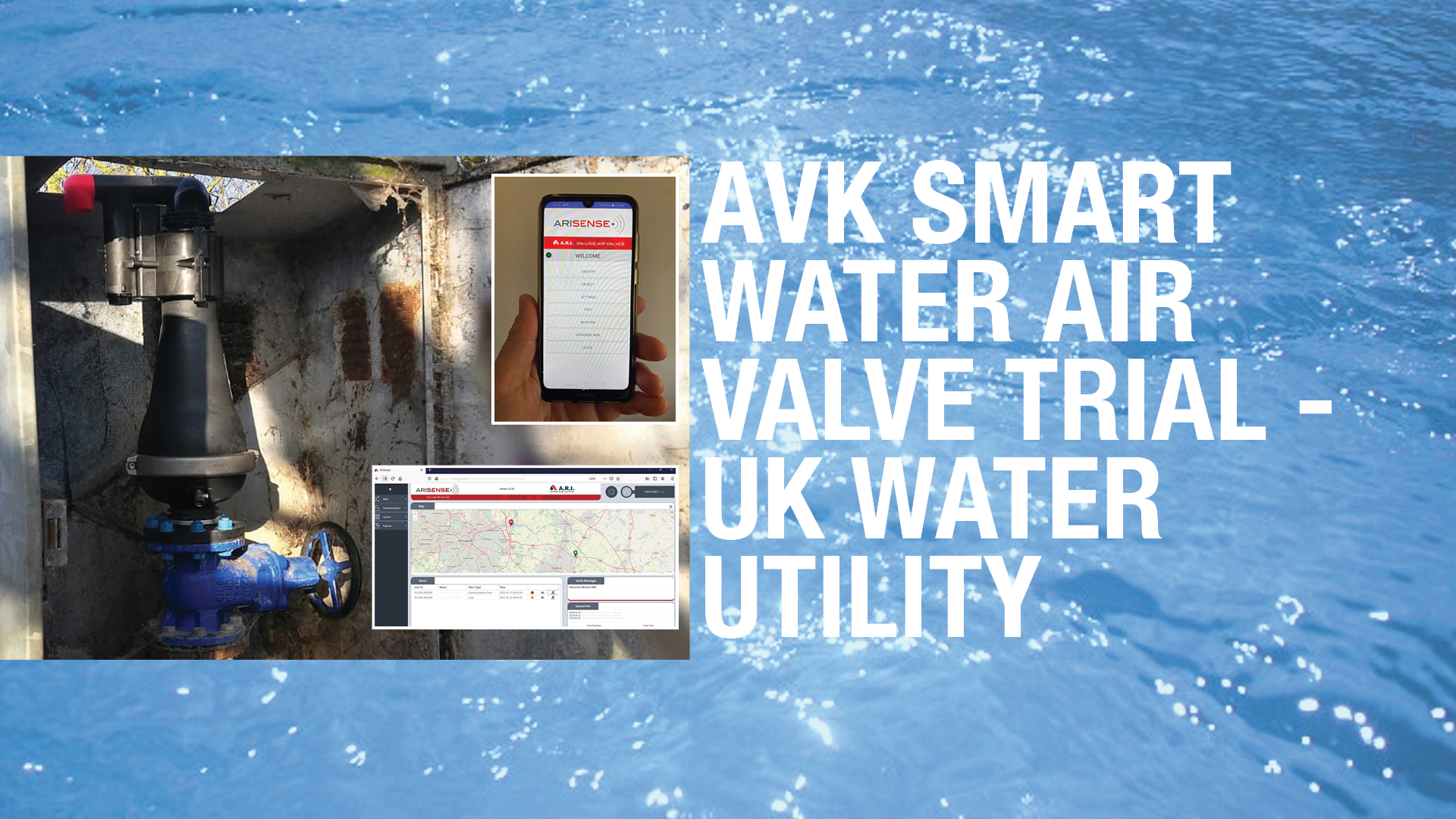 Smart Water Air Valve Trial for UK Water Utility