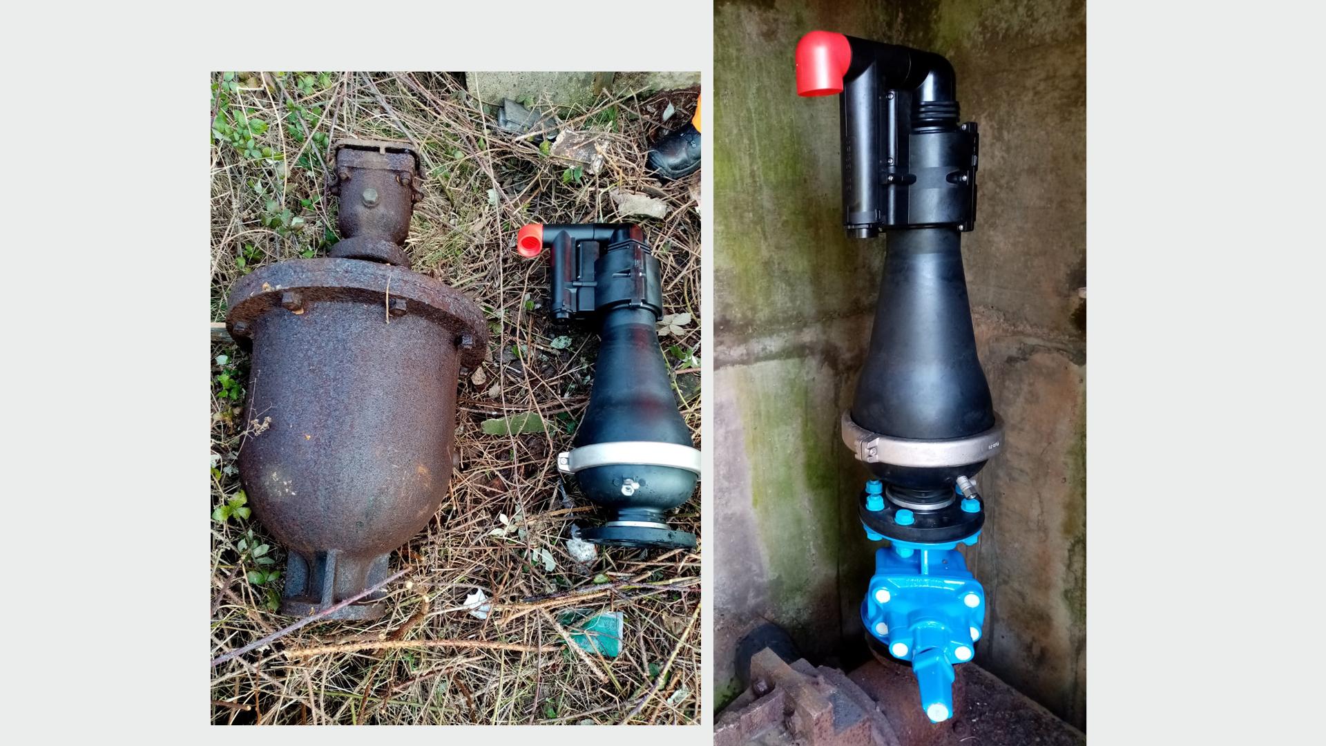 Smart Water Air Valve Installation