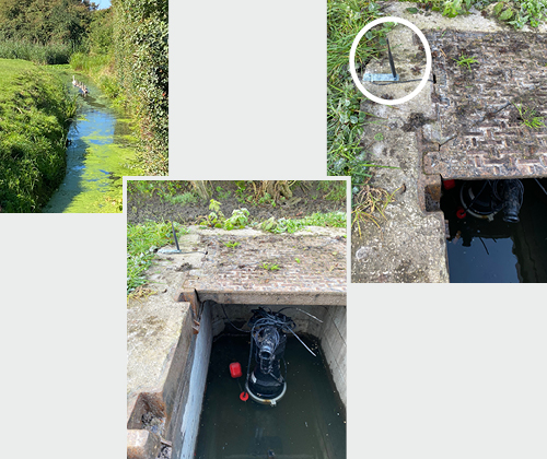 Wessex Water Smart Air Valve Case Study installation and antenna