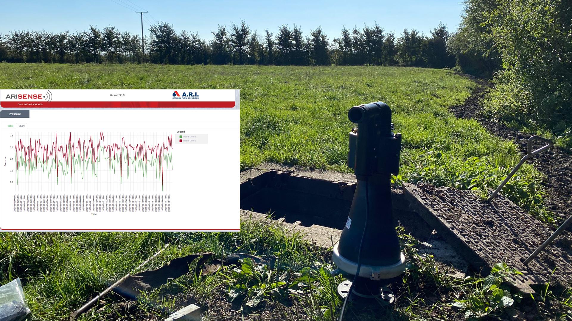 Wessex Water Smart Air Valve Case Study installation