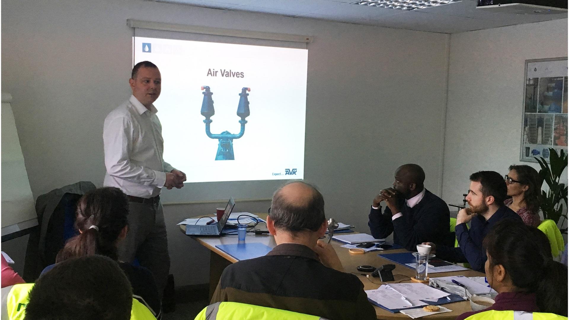 WSP Training and AVK visit