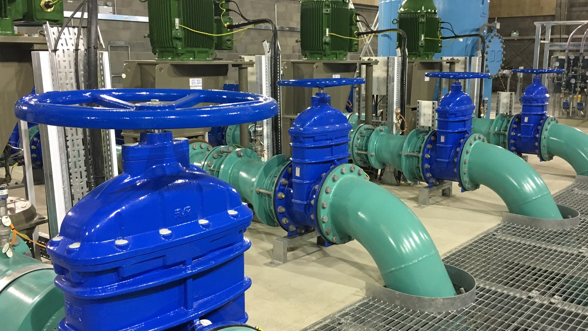 AVK valves on Wessex Water Grid