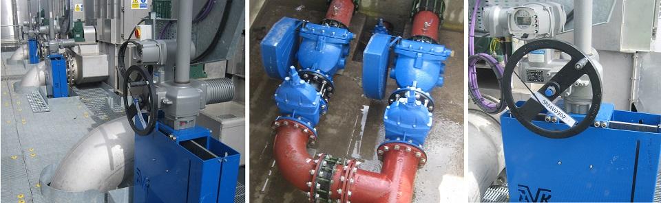 Woolston Wastewater Treatment Works AVK
