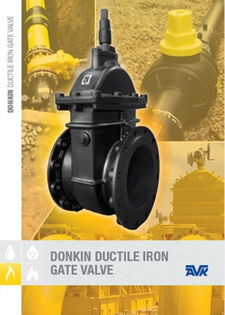 AVK Donkin 555/401 Gas Gate Valve Technical Brochure