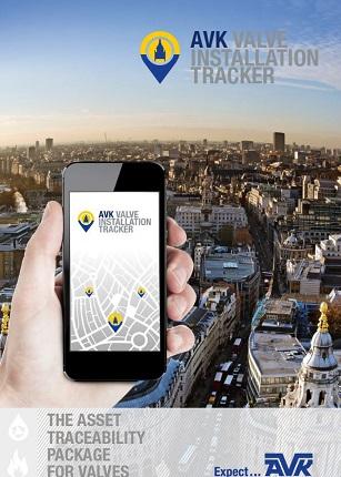 AVK Valve Installation Tracker
