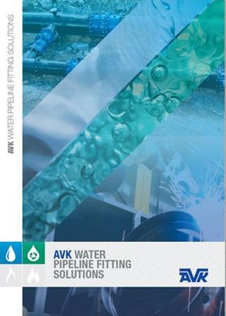 AVK Water and Waste Water Fittings Brochure Sept 2021