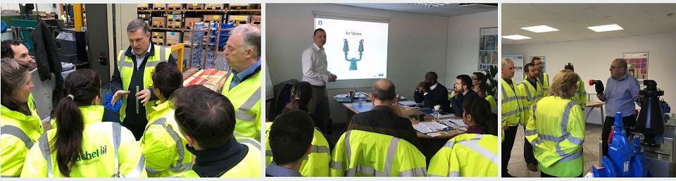 AVK Air valve training sessions