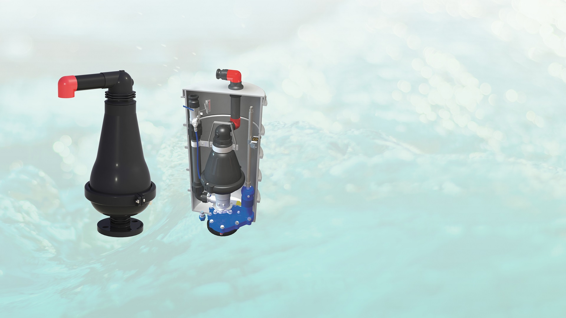 AVK  Chambered Air Valves Corrosion Free Series 701