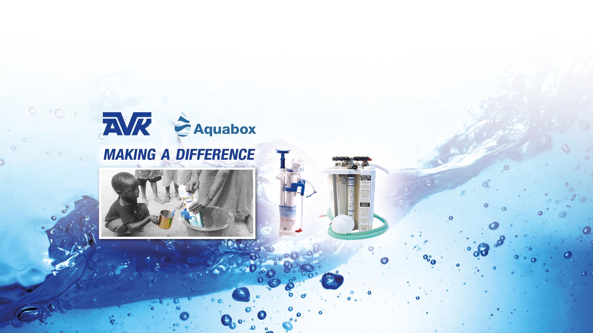 AVK UK Aquabox charity