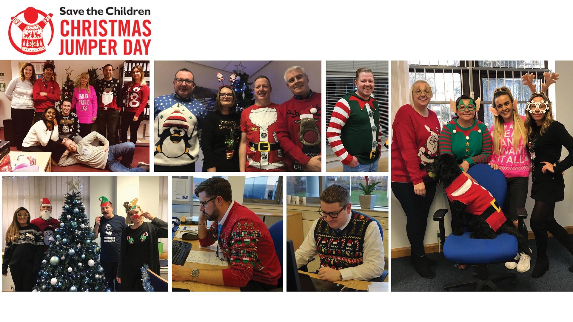 AVK Children in need Christmas jumper day