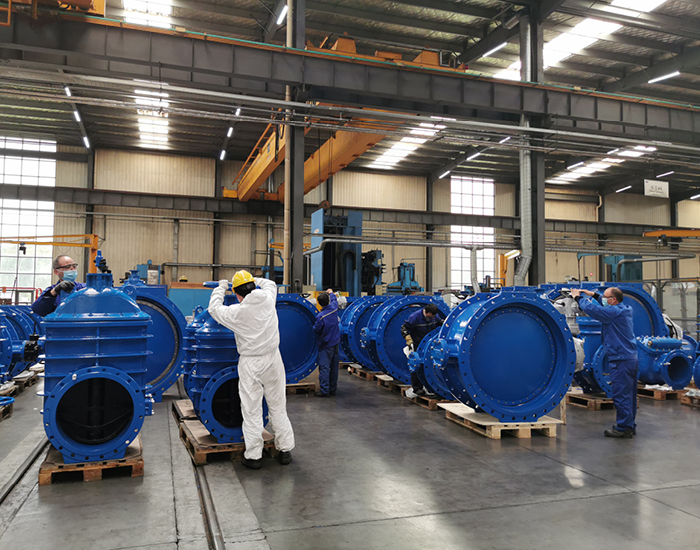 AVK China operations on valves
