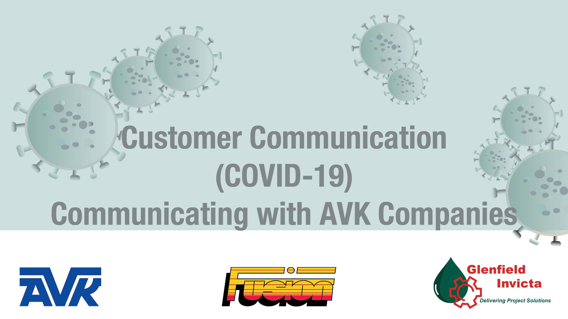 AVK  UK communicating with AVK