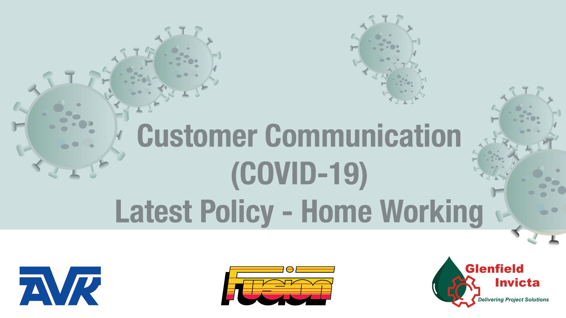 AVK Coronavirus Home Working