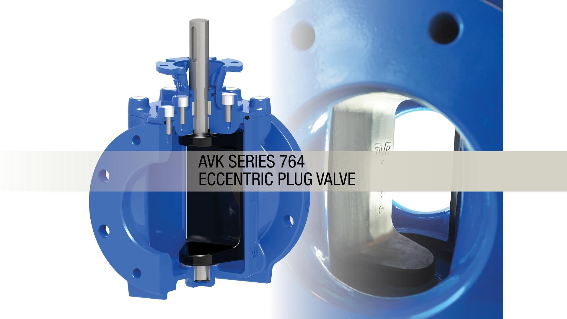 AVK Series 764 Eccentric Plug Valves
