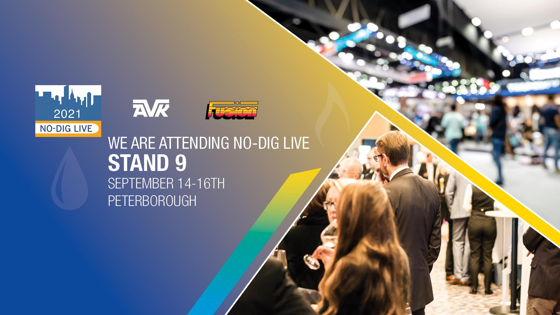 AVK UK exhibiting at No_Dig 2021