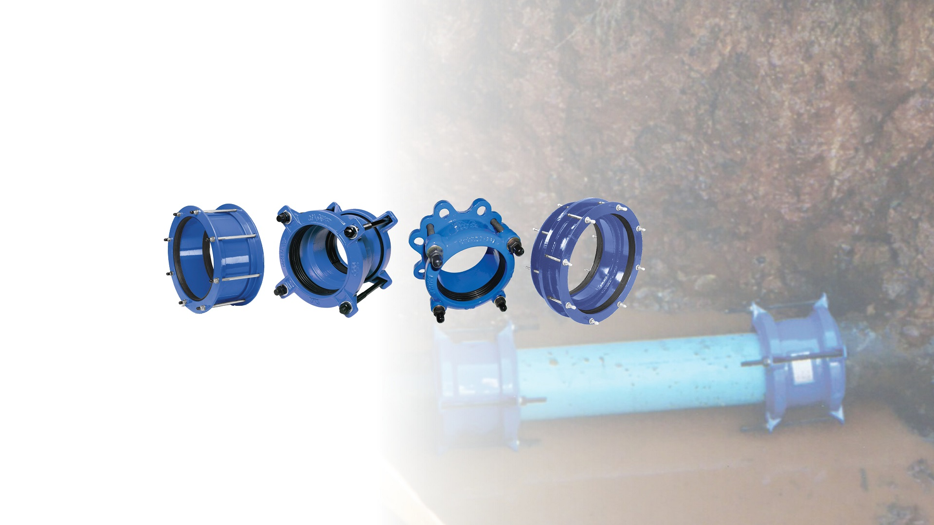 Flange adaptors and couplings