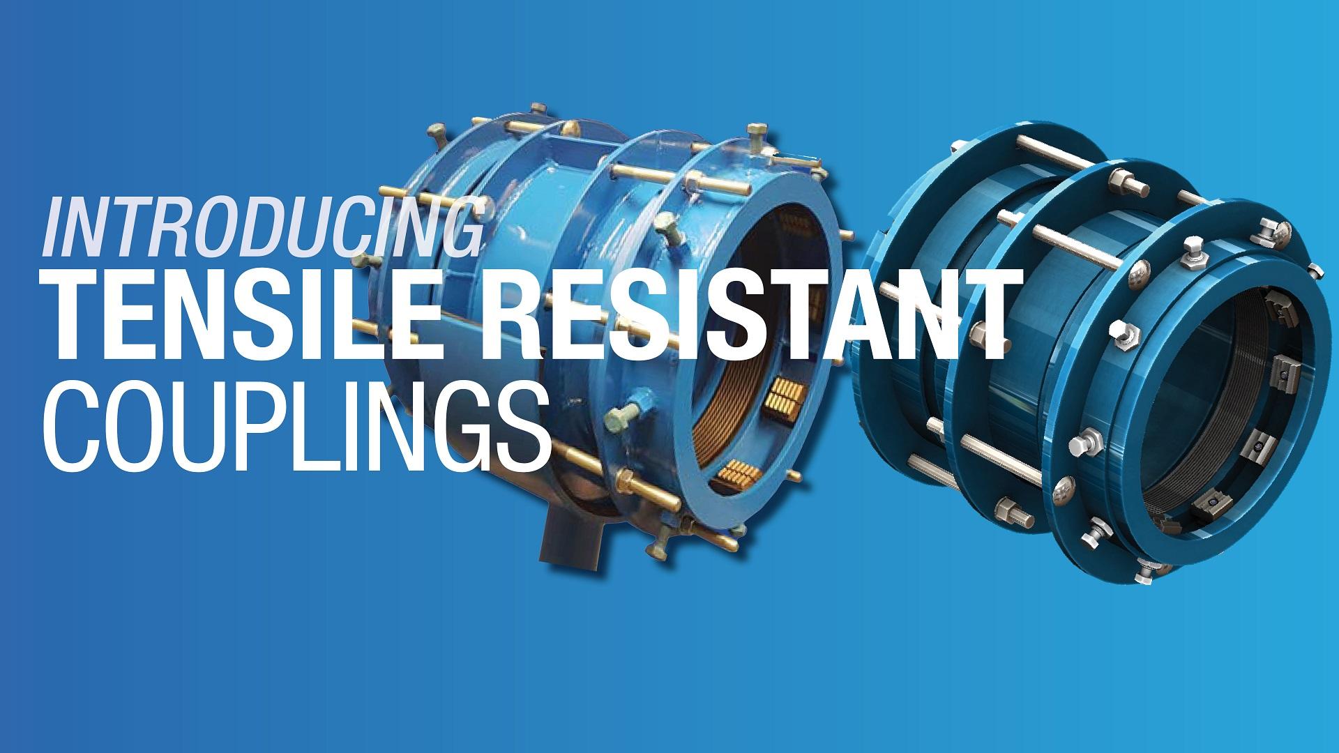 AVK Tensile Resistant Couplings