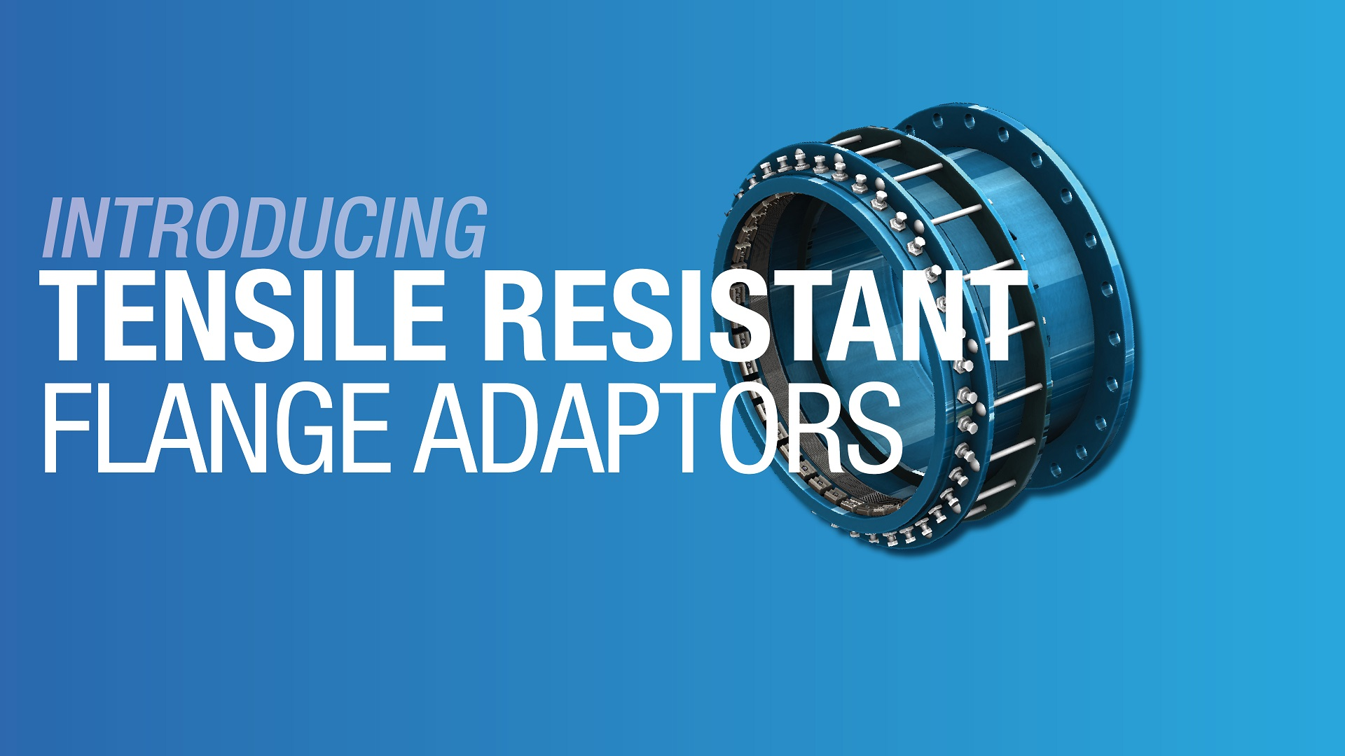 AVK Tensile Resistant Flange Adaptors