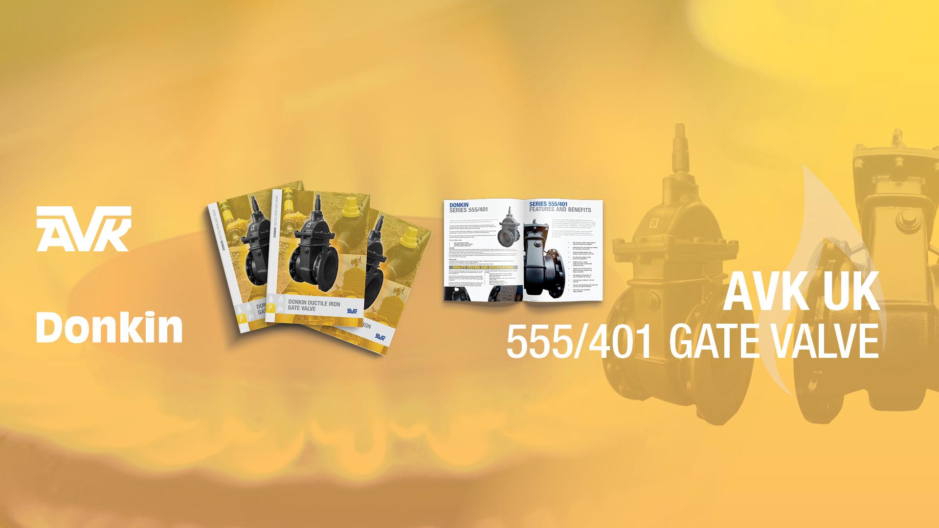 Donkin 555 401 Gas Gate Valve Ductile Iron