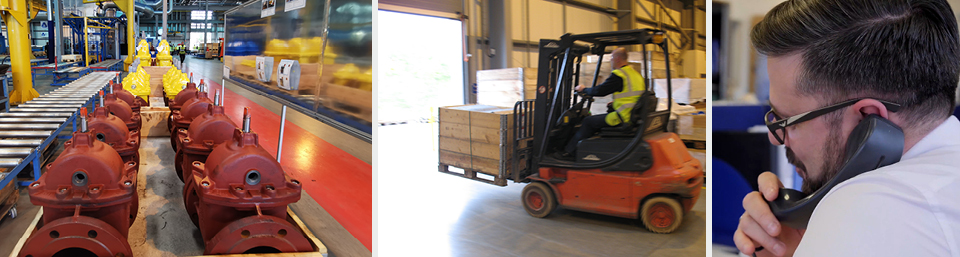 AVK Donkin Sales Factory and Despatch