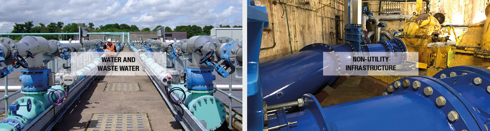 Glenfield Invicta Water waste water and non utility infrastructure