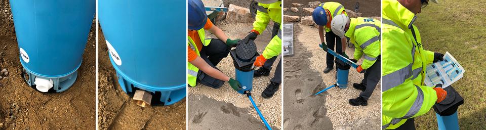 AVK Pentobox Water Meter Boundary Boxes for contaminated ground