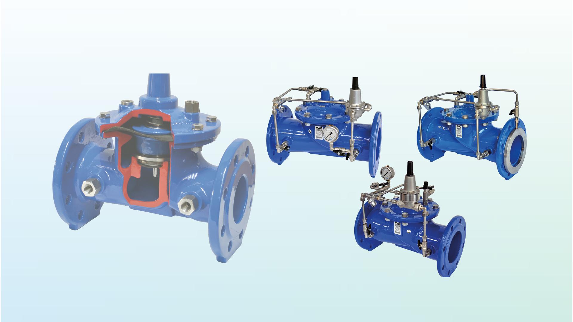 AVK Series 879 Control and Pressure Reducing Valves PRV