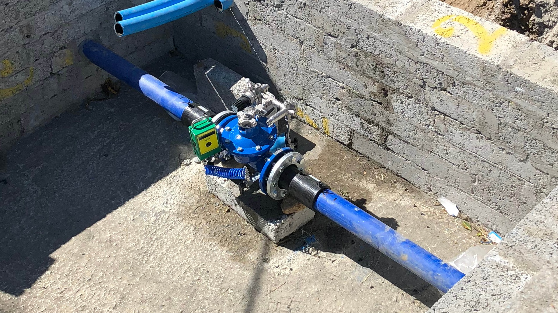 AVK Series 859 control valves with data logger