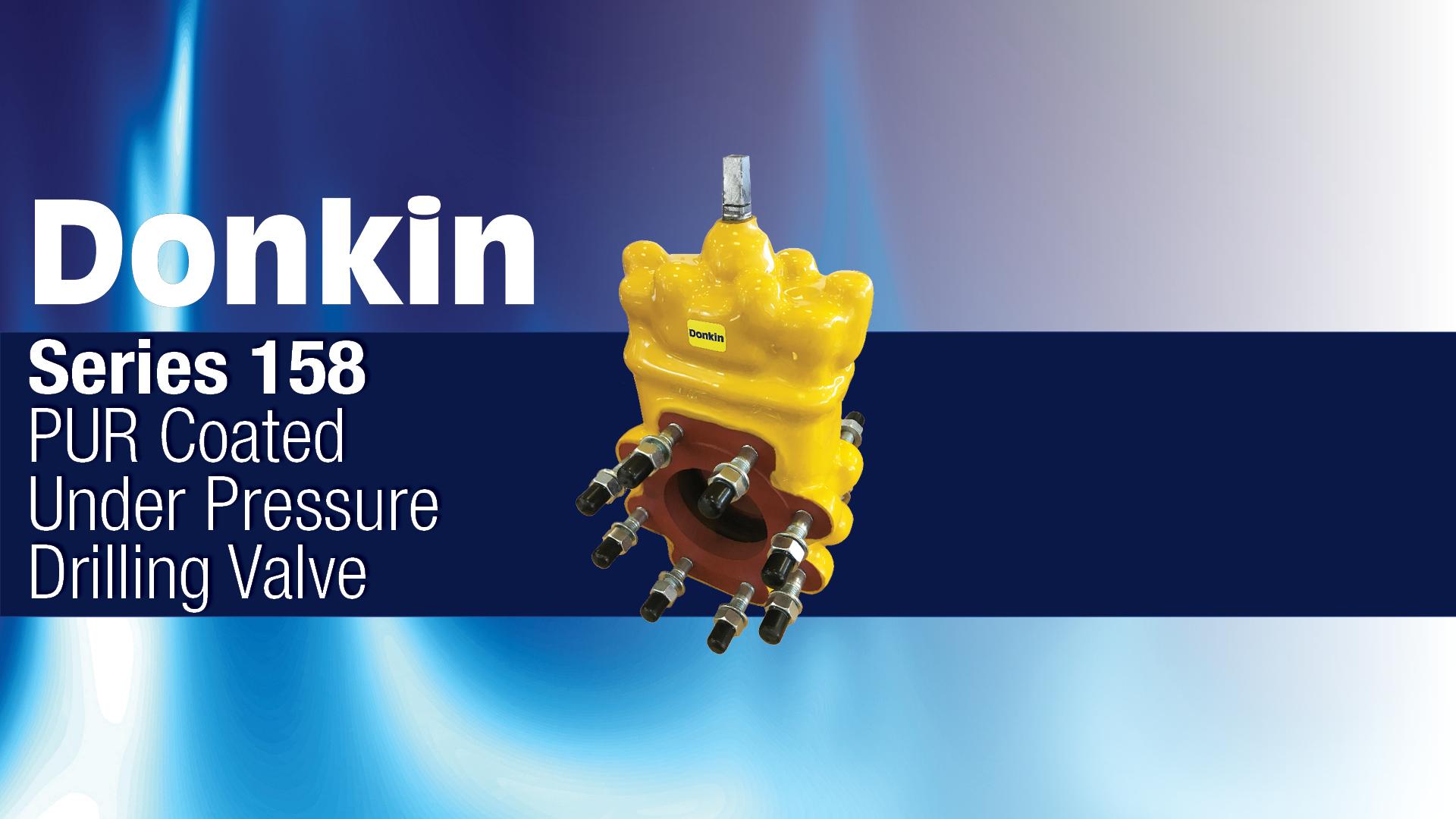AVK Donkin Gas Valve Series 158 PUR Coated