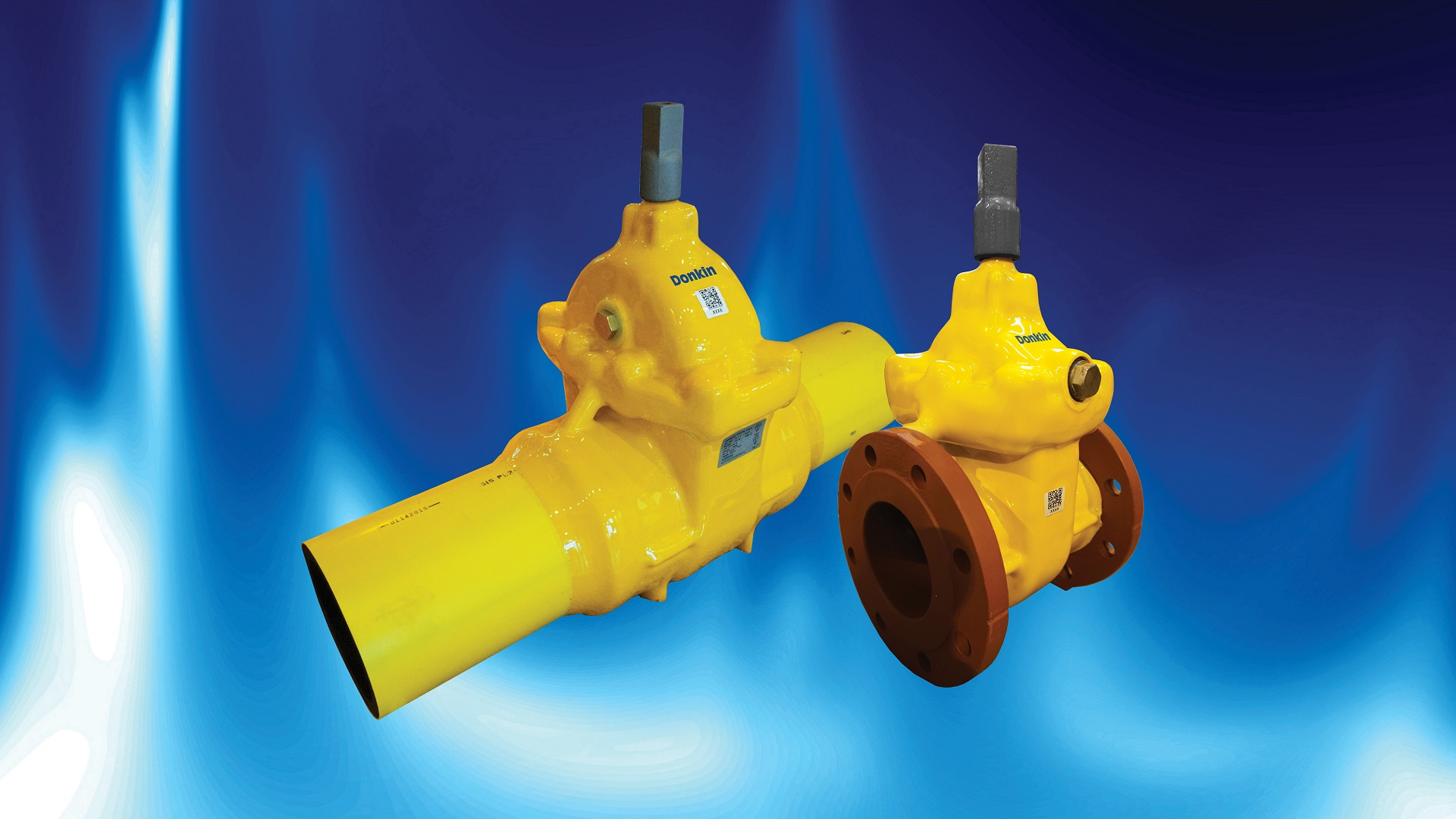AVK Donkin PUR coated valves