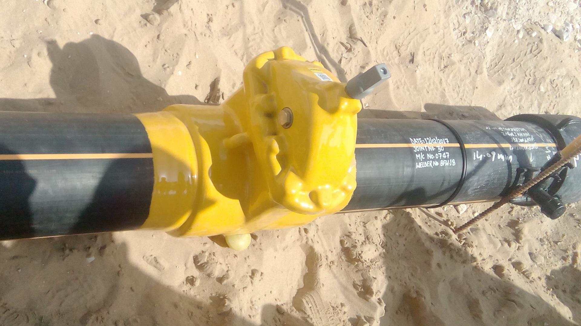AVK Donkin PUR Coated Gas Valves