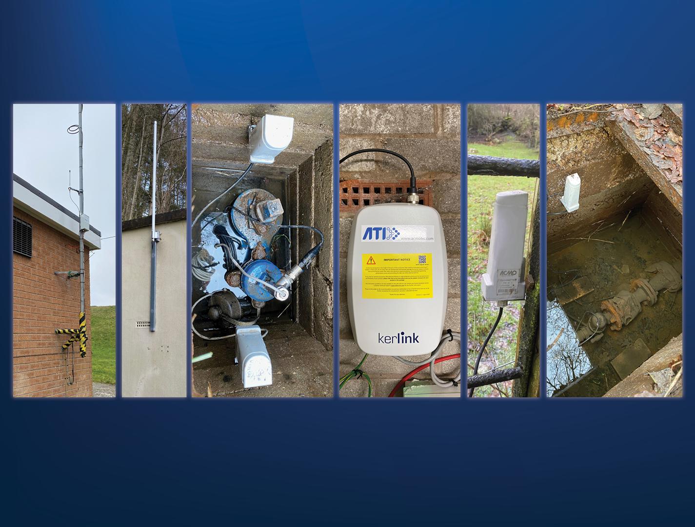Hafren Dyfrdwy installation AVK Smart Water