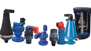 AVK range of air valves for water and waste water