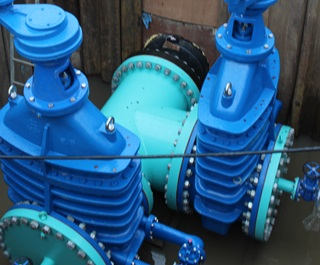 Amlaird Large AVK Gate Valve Project