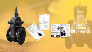 555/401 Ductile Iron Gate Valve Technical Information