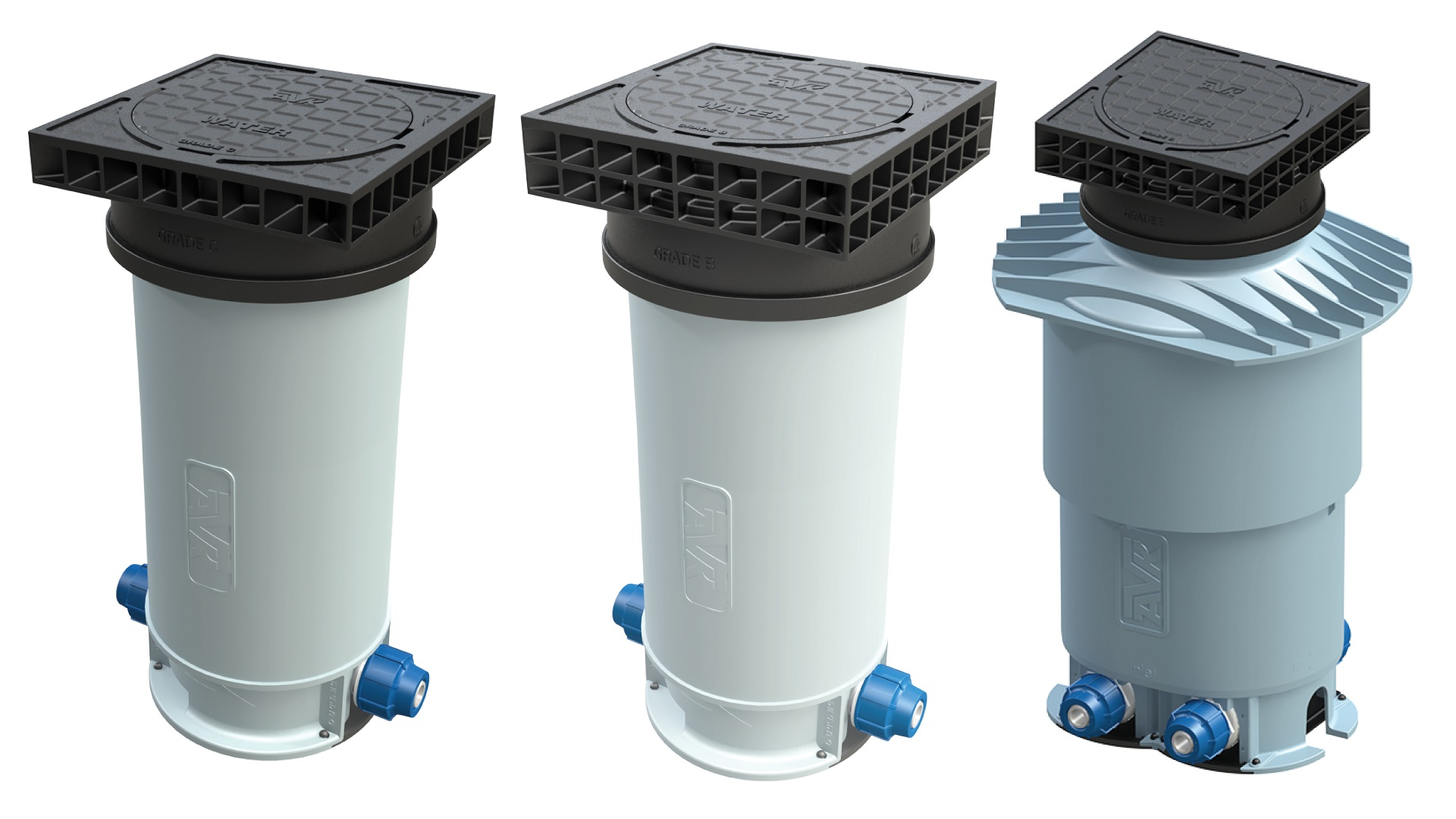 AVK Pentobox water meter boundary boxes