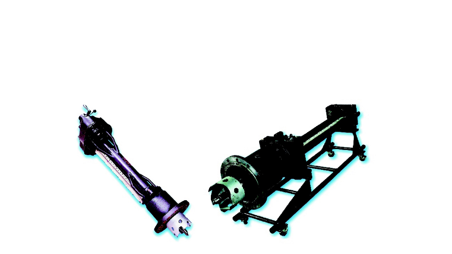 AVK Donkin gas drilling machines