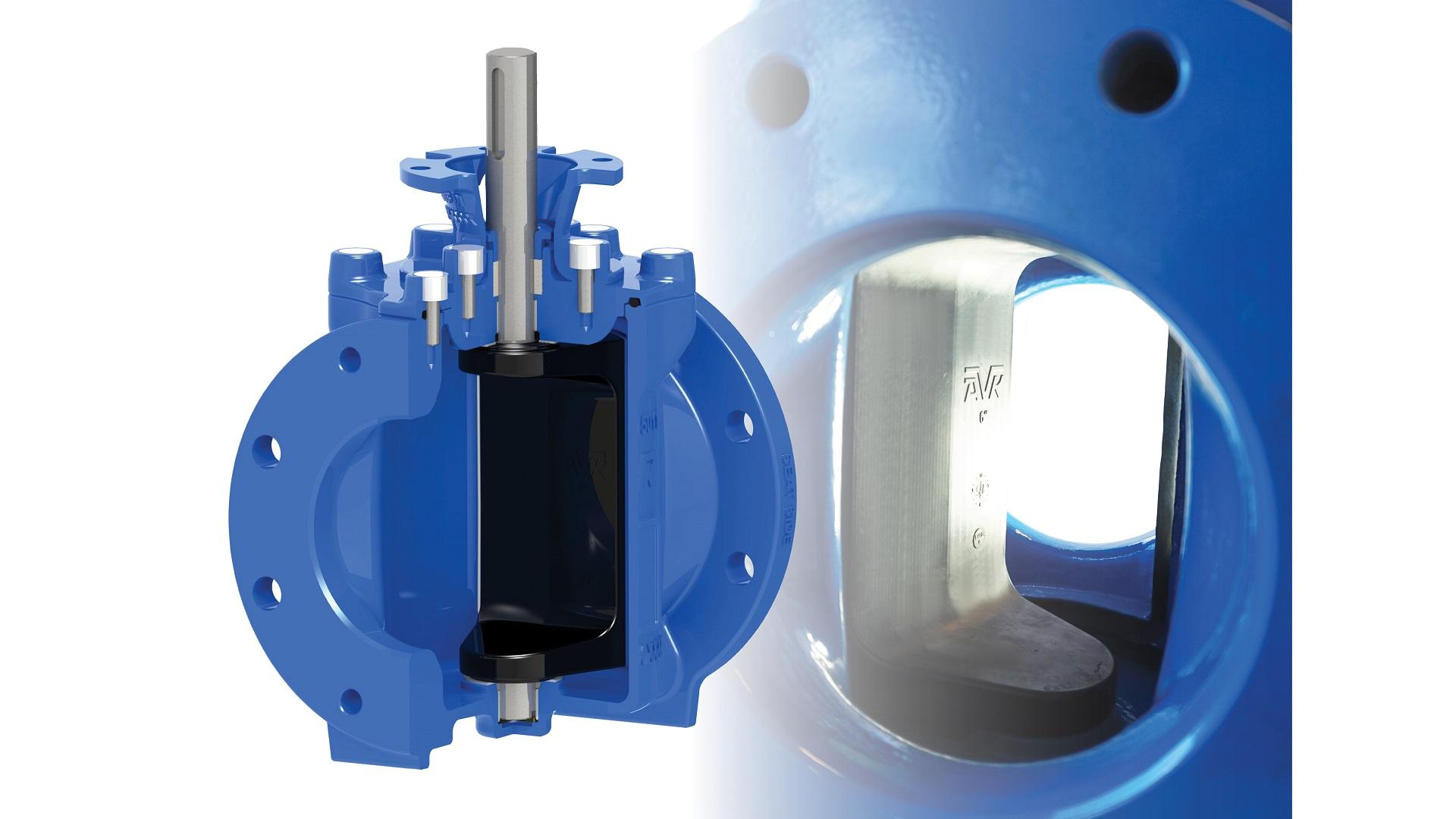 AVK series 764 eccentic plug valve