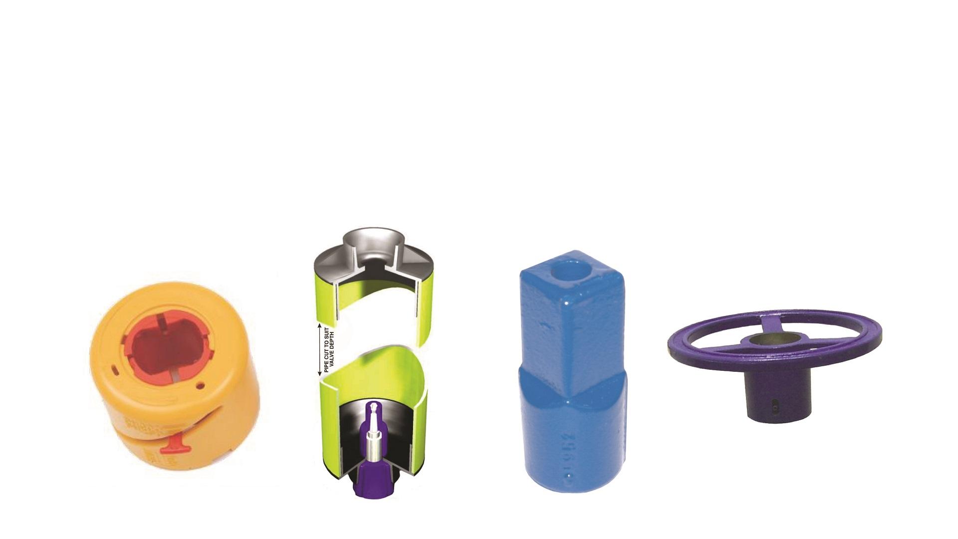 AVK Donkin gas gate valves accessories