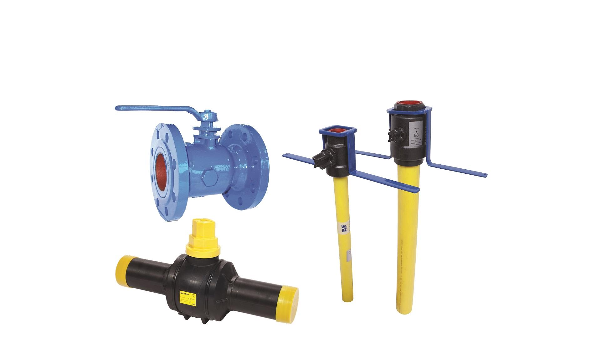 AVK Donkin gas ball valves