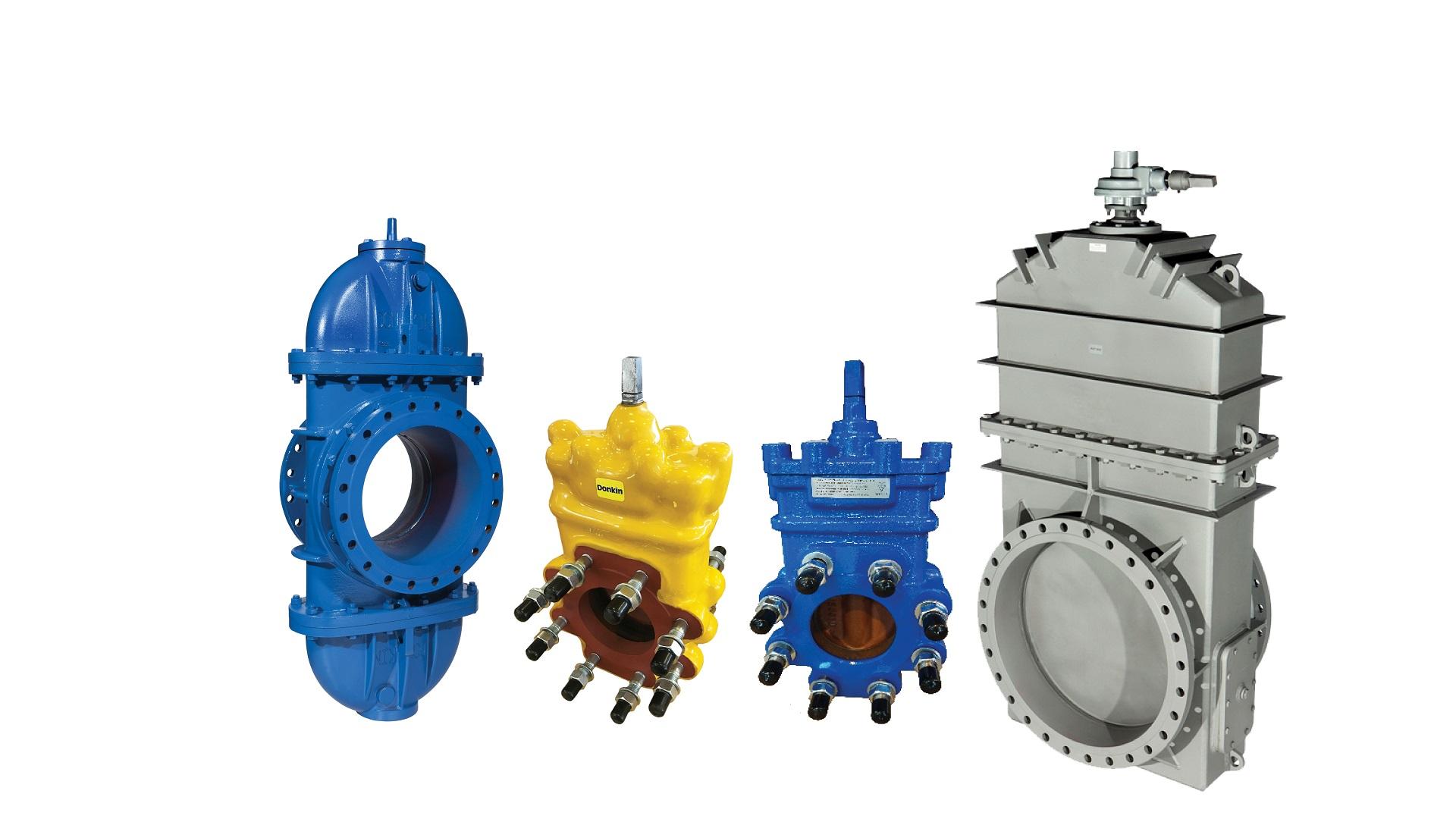 AVK gas slide valves