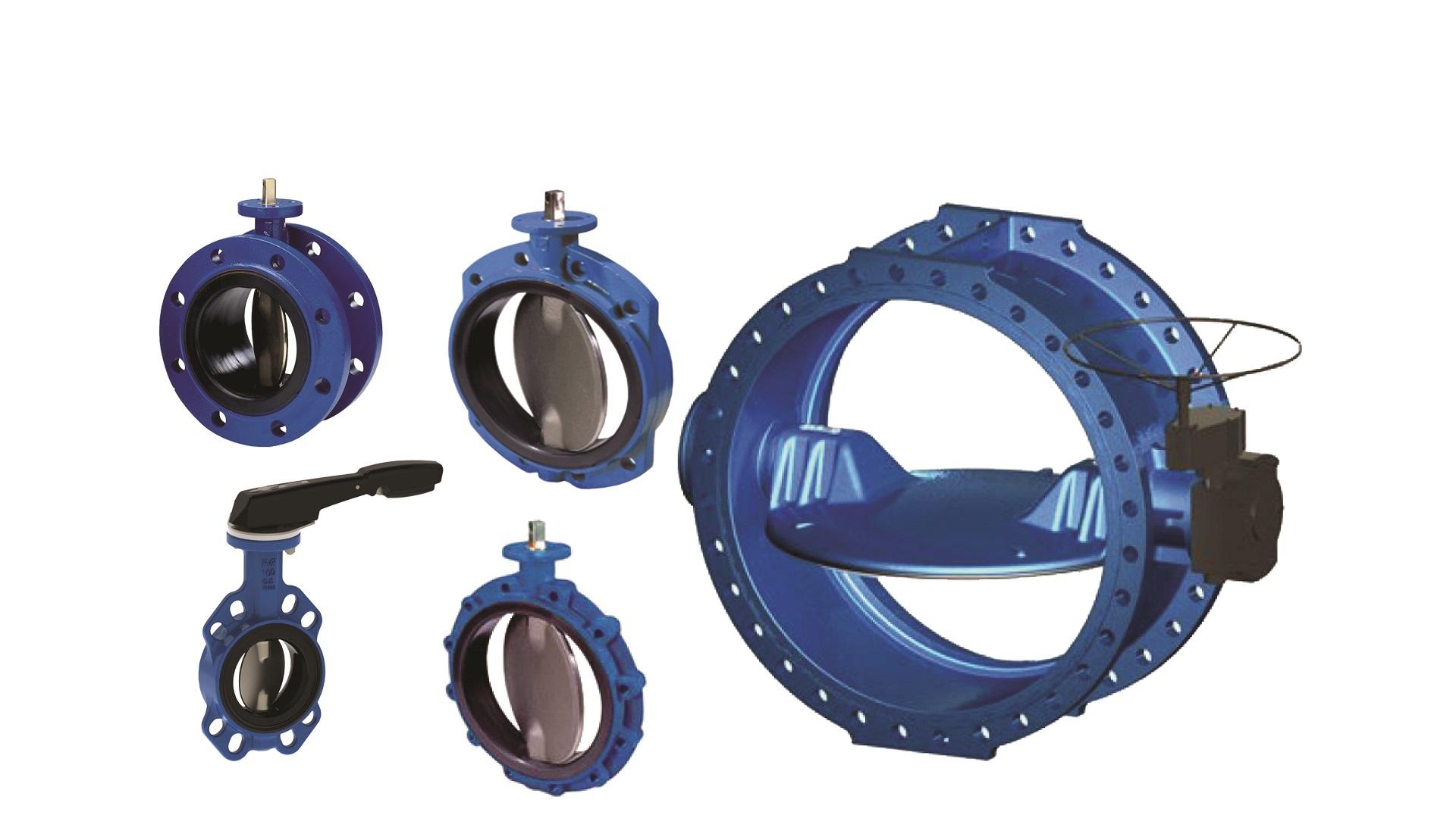 AVK butterfly valves