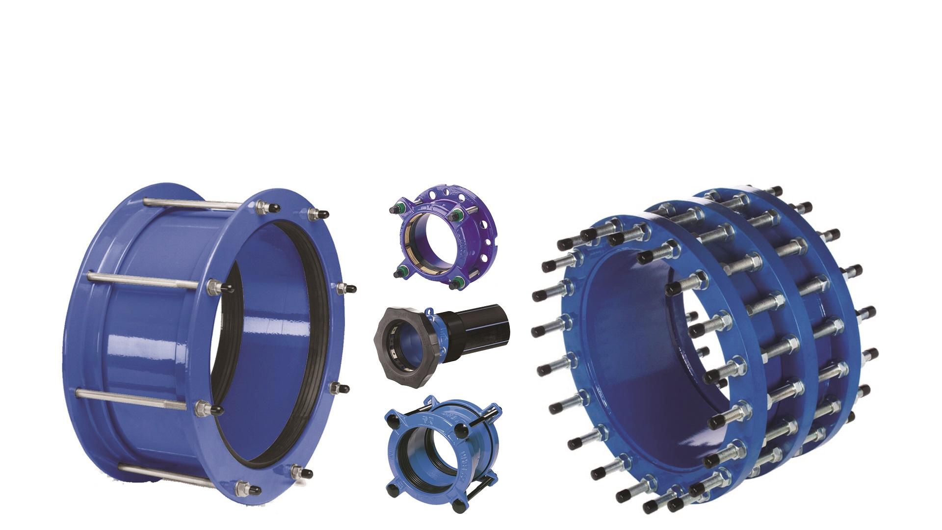 AVK coulpings and adaptors