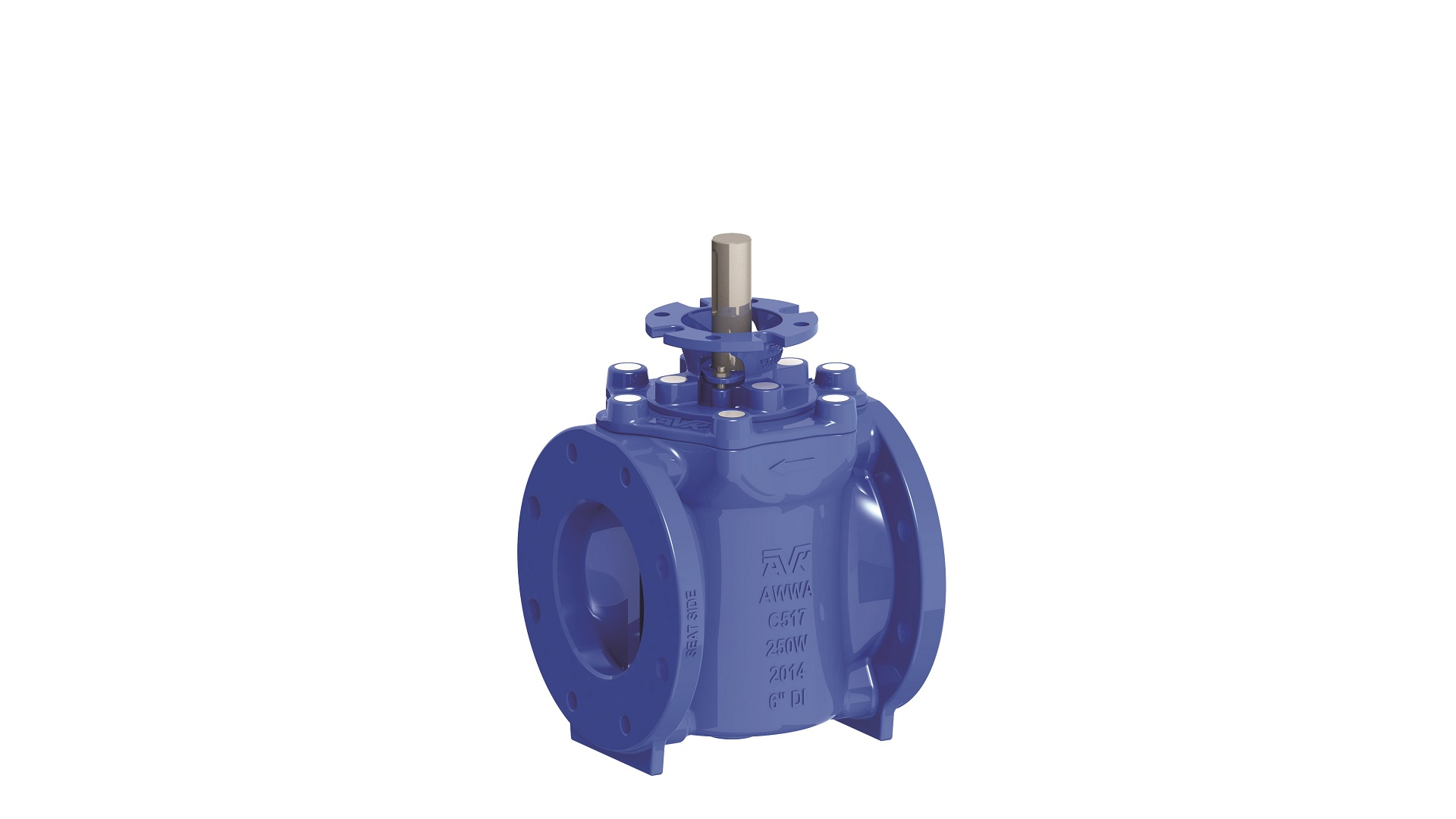 AVK waste water eccenttric plug valves